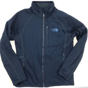 The North Face Navy Timber Full Zip Jacket